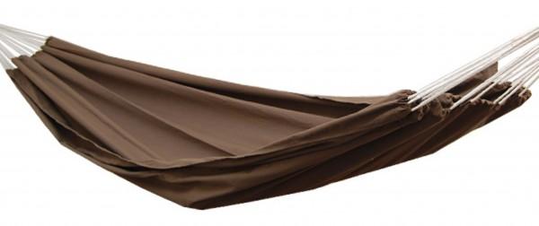 XXL Hängematte für 2 Personen bis 150kg 400x160cm Braun