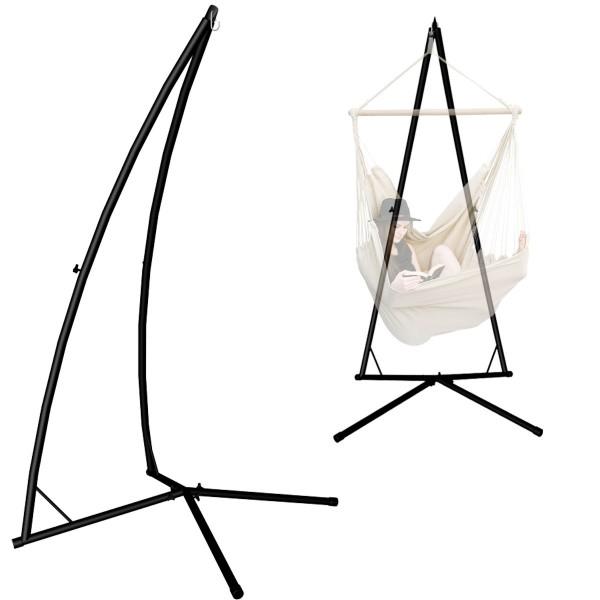 AMANKA Hängesessel Gestell für XL Hängestühle 215cm Hängestuhl Ständer bis 120kg