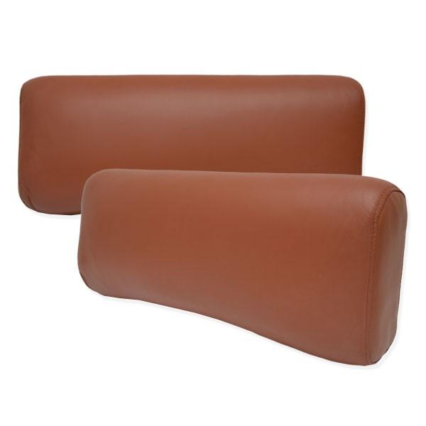 deko kissen leder dunkel braun ca 70x30 cm heimtextilien wohnen. Black Bedroom Furniture Sets. Home Design Ideas