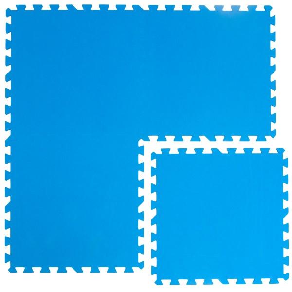 Pool Bodenschutzmatte Blau