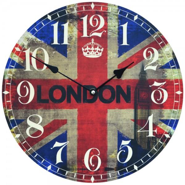 Wanduhr London Big Ben 34 cm