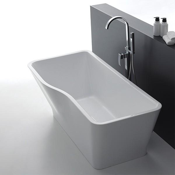 Badewanne Mallorca weiß Acryl 1700x800x600mm
