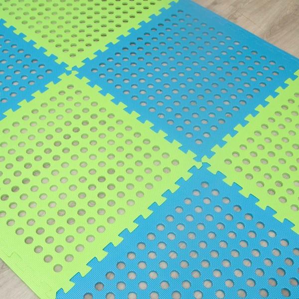 EVA Gittermatte 62x62cm Poolmatte Bodenfliese Unterlage für Pool