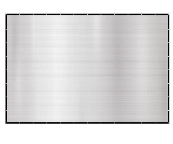 99% Schattennetz 6x4m Alu Sonnensegel Sonnenschutz Netz Hitzeschutz für Auto