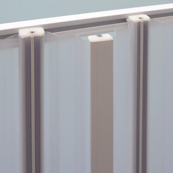Duschabtrennung Elba Zubehör 2x 7,5cm Paneel + 2x Verbindungs Schienen