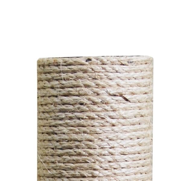 Sisalsäule 45 cm 2x Innengewinde ohne Schraube