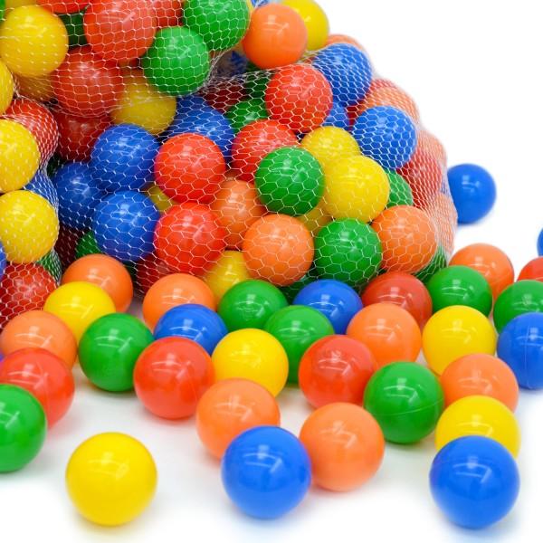 Bälle für Bällebad 6cm bunte Spielbälle Plastikbälle Kinderbälle Gewerbe Qualität