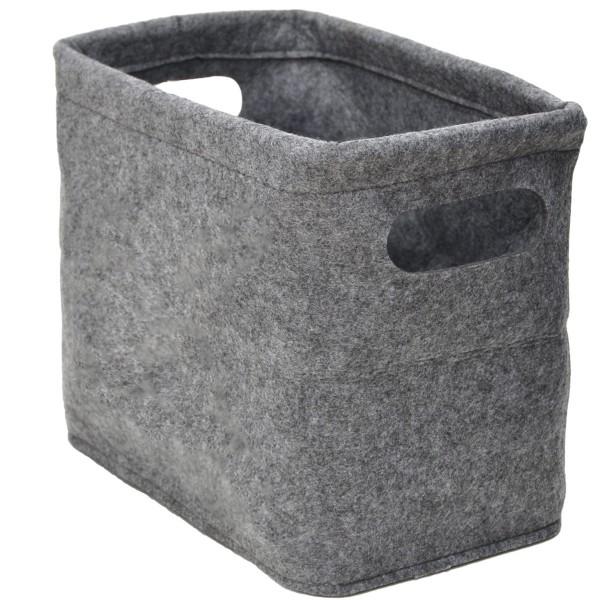 FILZ Toilettenpapier Aufbewahrung Box für 4 Klorollen Bad Deko Aufbewahrungsbox