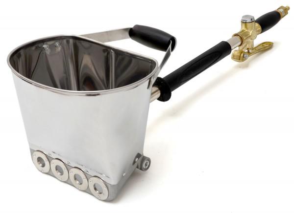 Druckluft Putzwerfer für Wände - Kompressor Putzpistole Putzmaschine Putzspritze