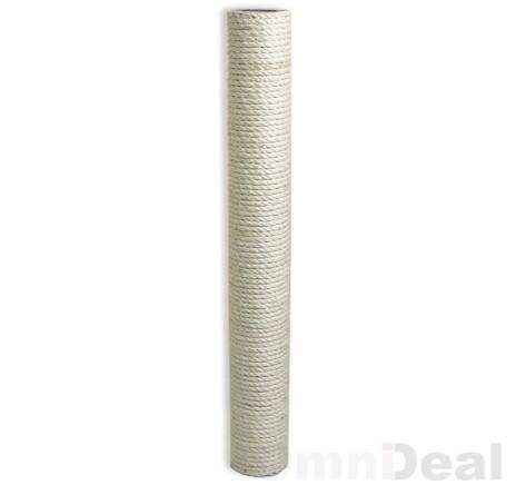 Sisalsäule 50x8cm (M10) 2x Innengewinde ohne Schraube