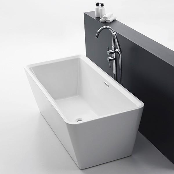 Badewanne Ibiza weiß Acryl 1700x800x600mm